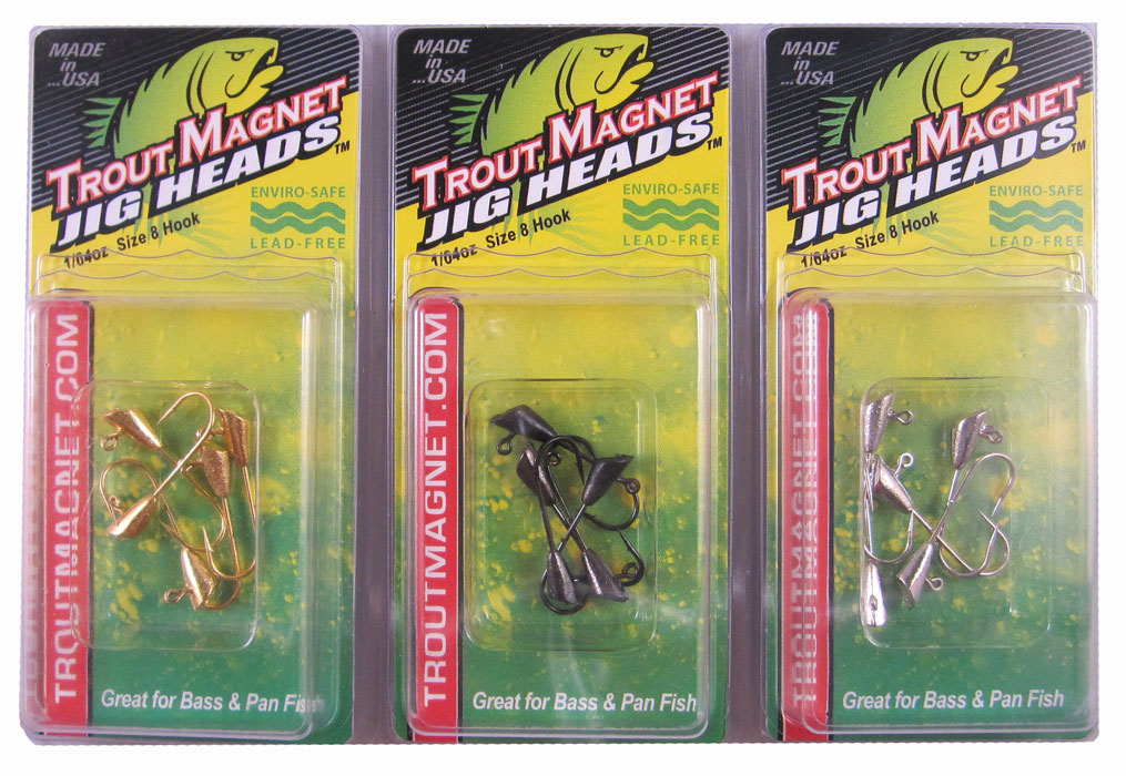 LEAD FREE Trout Magnet Jig Heads