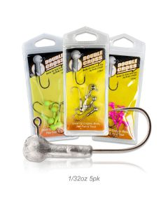 Double Cross Jig Head 1/32oz 5pk