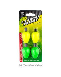 E-Z Trout Float 4 Pack