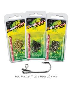 Mini Magnet™ Jig Heads 25pc. Pack