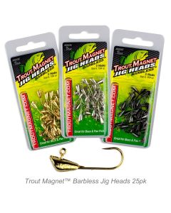 Trout Magnet™ Barbless Jig Heads 25pk