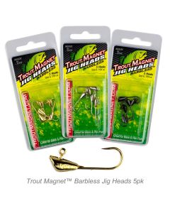 Trout Magnet™ Barbless Jig Heads 5pk