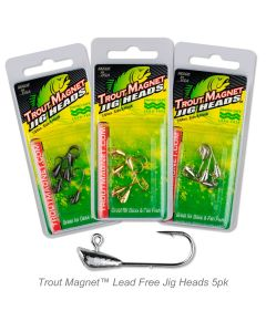 Trout Magnet™ Lead Free Jig Heads 5pc. Pack