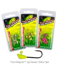 Trout Magnet™ Jig Heads-1/64oz 5pk