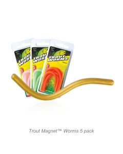 Trout Magnet™ Worms 5pc. Pack