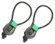 Fishing Butler Rod Ties - Green - One Pair