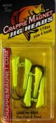 Crappie Magnet Jig Head-Chartreuse 1/16oz 5pk