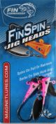Fin Commander Fin Spin 1/16oz 2pk White/Pink
