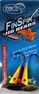 Fin Commander Fin Spin 1/8oz 2pk Chart/Or