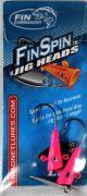 Fin Commander Fin Spin 1/8oz 2pk Pink